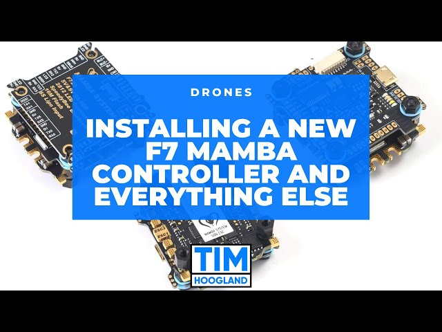 Installing a New F7 Mamba Controller and Everything Else | Livestream