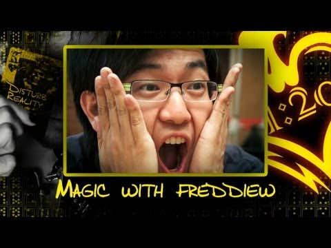 Magic with freddiew