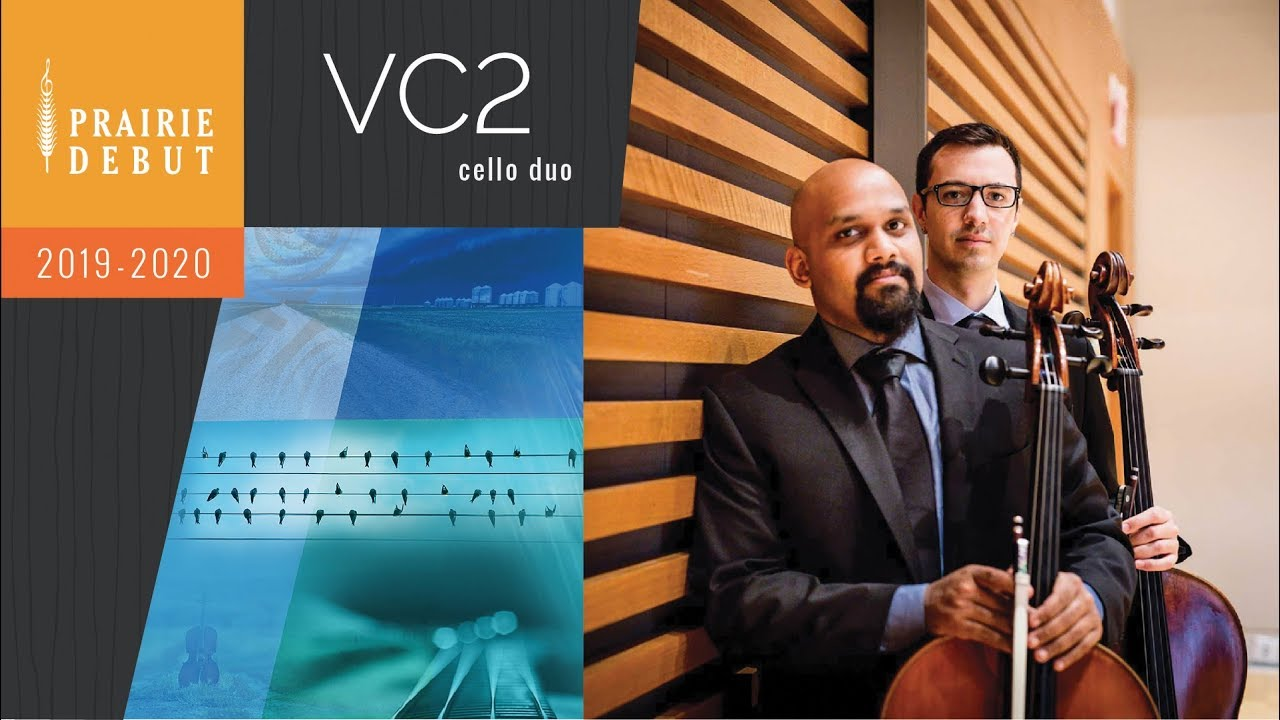 VC2 Cello Duo | Prairie Debut 2018-19 Classical Concerts