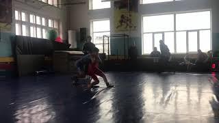 Чемпионат Запорожской обл Сидоренков Роман 1схватка 22.02.19