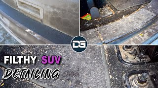 Detailing an EXTREMELY FILTHY SUV!! | Satisfying Car Detailing of a DIRTY Ford Edge