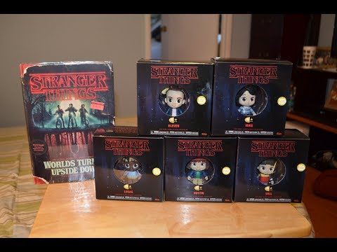 Funko 5 STAR STRANGER THINGS COLLECTION review & unboxing WORLDS TURNED UPSIDE DOWN BOOK Five Star