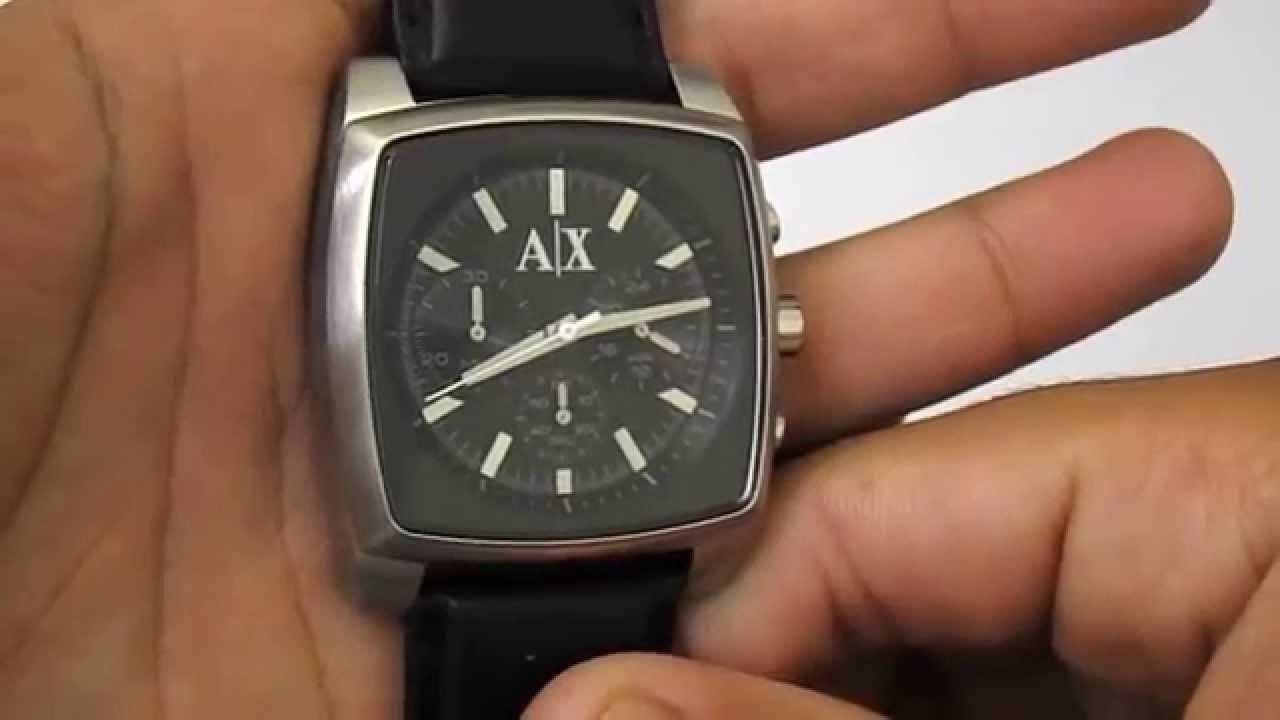 3c30f3be101 Relógio Armani Exchange AX2250 0PI - YouTube