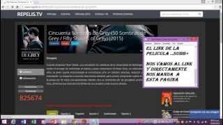 Como ver 50 sombras de grey online..en latino y en HD __Tutorial..!! --KramerGohan777