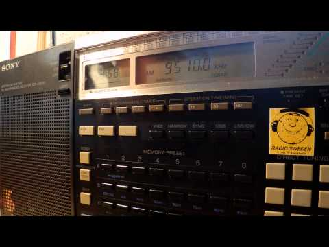 02 08 2014 IRRS Shortwave relay German music station, probably Rasant 0857 on 9510 Tiganesti