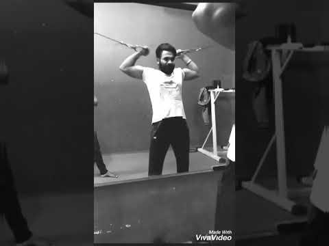 Gym workout adha pind Gurj sidhu