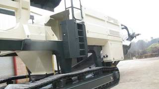 Trackline Ltd - 132 tonne Crusher. Trackline Chassis and Track