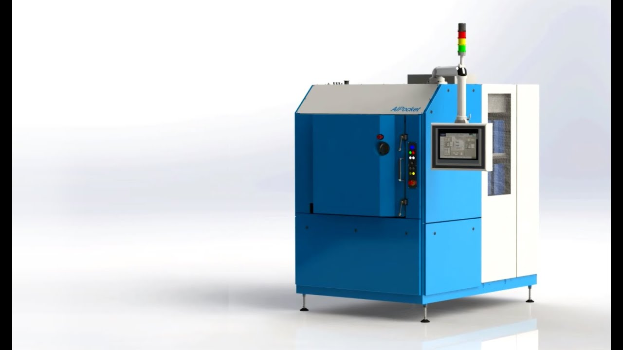 PVD coating machine: AIPocket™ Promotional Video - YouTube