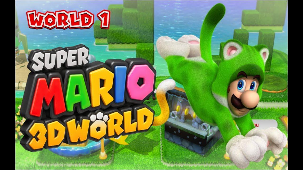 I'M A CAT! - Super Mario 3D World: Wii U [1] : LightTube