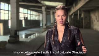I Mercenari 3 - The Expendables: intervista a Ronda Rousey (sottotitoli in italiano)