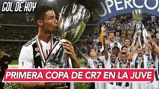 Juventus campeón con gol de Cristiano I Fichajes #goldehoy