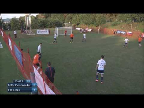 EMF Champions League 2016 - Last 16 - MAV Continental (Romania) vs FC Letka (Slovakia)
