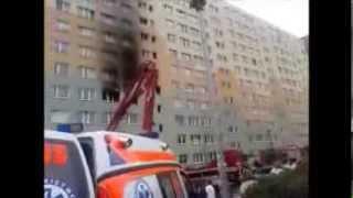 Tragiczny pożar w bloku przy ul. Hożej 1 we Włocławku