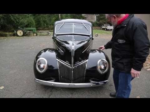 "1939 Ford Deluxe Coupe Street Rod  "" SOLD ""  Drager's International Classic Sales 206-533-9600"