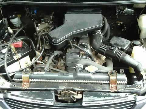 Daihatsu Terios 13 Mini Suv Engine Youtube