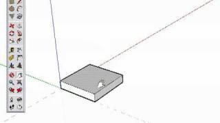 Google SketchUp Часть 4. Нарисуйте стул