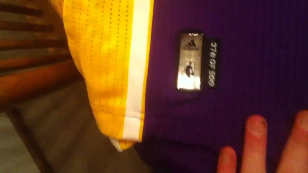 new style e27f2 4bf5e Jersey Review #6: Los Angeles Lakers Revolution 30 Authentic Kobe Bryant  Jersey