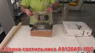 Бра ARTE Lamp A9126AP-1BG - видеообзор