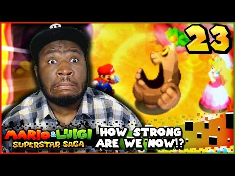 """LEAVE PEACH ALONE!""   Mario and Luigi Superstar Saga + Bowser's Minions w/ @PKSparkxx! - Part 23"
