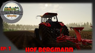 🚜 FS19 - Hof Bergmann - Day 1 Spring - EP 1 - Lets Buy Some Chickens - 🐔