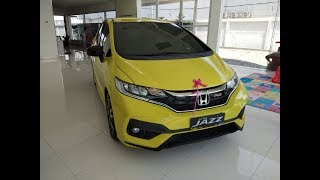 Review All New Honda Jazz RS facelift 2018