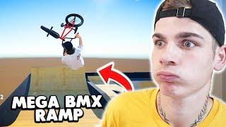BMX FAHREN in MEGA RAMP 😱