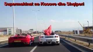 Ferrari F430 Spider vs. Ferrari F430 Spider Dasem ne Kosove 2012 HD