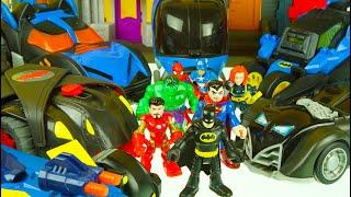 BATMAN tries to join THE AVENGERS - IRON MAN, HULK, SPIDERMAN, SUPERMAN BLACK WIDOW superhero toys