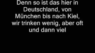Mike Krüger - Wir trinken wenig (Lyrics)