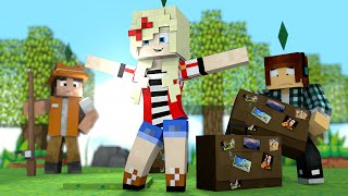 Minecraft : A LYDIA VOLTOU PRA CASA !! - The Sims Craft Ep.231