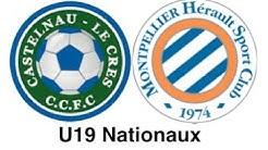 U19 Nationaux : Résumé Castelnau le Cres FC - Montpellier HSC du 23/11/19