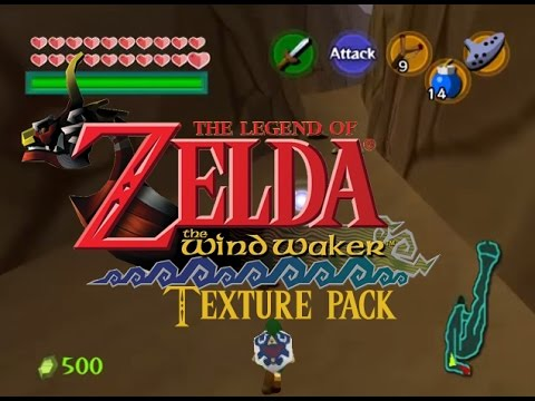 Ocarina Of Time Wind Waker Texture Pack Trailer