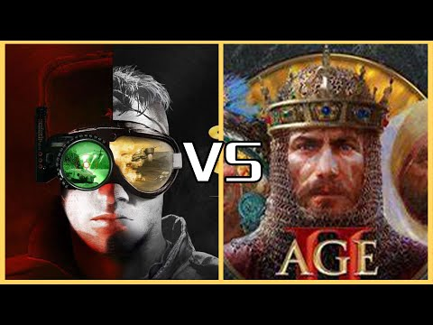 Command & Conquer Remastered Collection VS Age of Empires II: Definitive Edition |