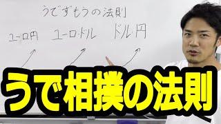 【うで相撲の法則】FXの連動性