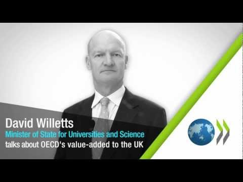 UK Minister David Willetts talks about OECD and the UK