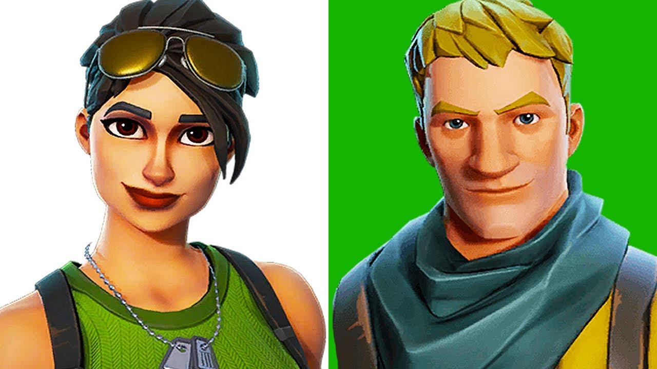 rip to all default skins in fortnite - all fortnite default skins
