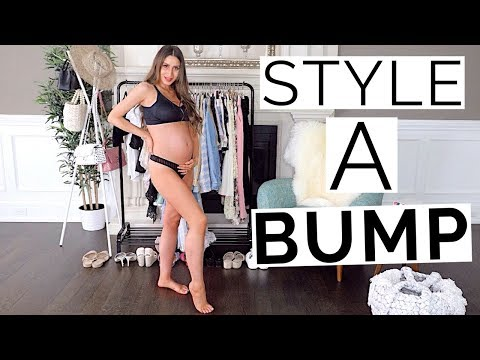 28 Ways to Style a Baby Bump | 2nd Trimester Pregnancy Style