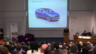 Crystal Lecture 2013 University of Wolverhampton Business School - Jaguar Land Rover
