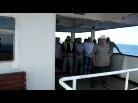 Theatrical Funeral For The Martyr On Gaza Aid Ship!