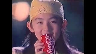 【CocaCola|コカコーラ CM】30秒|星野真里(Mari Hoshino)当時14才 ときめきシリーズ 「ファーストキス篇」♪ 息子(奥田民生)1995年 星野真里 検索動画 30