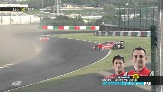 2010 Super GT Round 6 Suzuka, Japan 決勝ダイジェスト.mp4