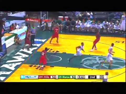 2013-14 GARRETT NEVELS Hawaii Rainbow Warriors Basketball Highlights