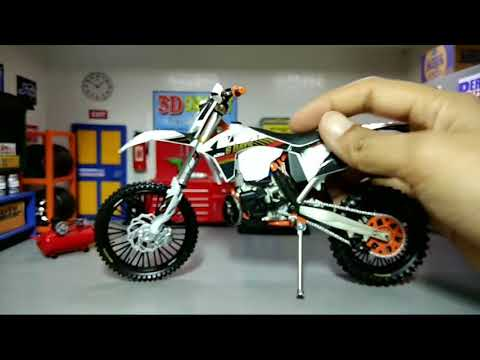 KTM SXF 450 2017 4-Stroke Motocross NEW New Ray Model Motorcycle 1:12