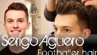 Sergio Aguero Football Player Hairstyle | Men
