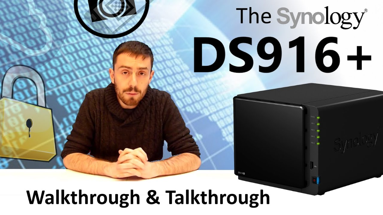 Synology DS916+ NAS DiskStation
