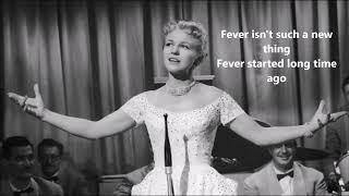 fever lyrics peggy lee
