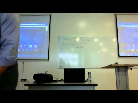DigitallyInterfacingClassrooms - Ryan Buchanan at Al Yamamah University