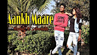 Aankh Marey - Simmba | Ranvir Singh | Sara Ali Khan | Dance Choreography | Rohit Roy ft. Amrita