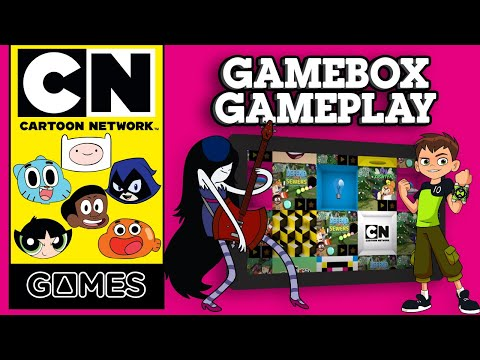 GameBox App Gameplay | FREE APP | Cartoon Network UK 🇬🇧