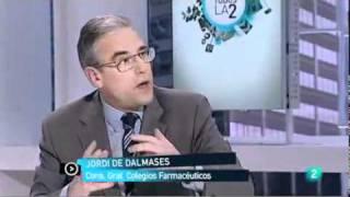 La reducción del gasto farmacéutico por Jordi de Dalmases, presidente del Colegio de Barcelona